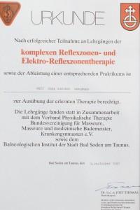 Reflexzonen Elektro Reflexzonentherapie